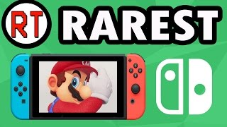 The Rarest Nintendo Switch Games Ever Made (APRIL FOOLS)