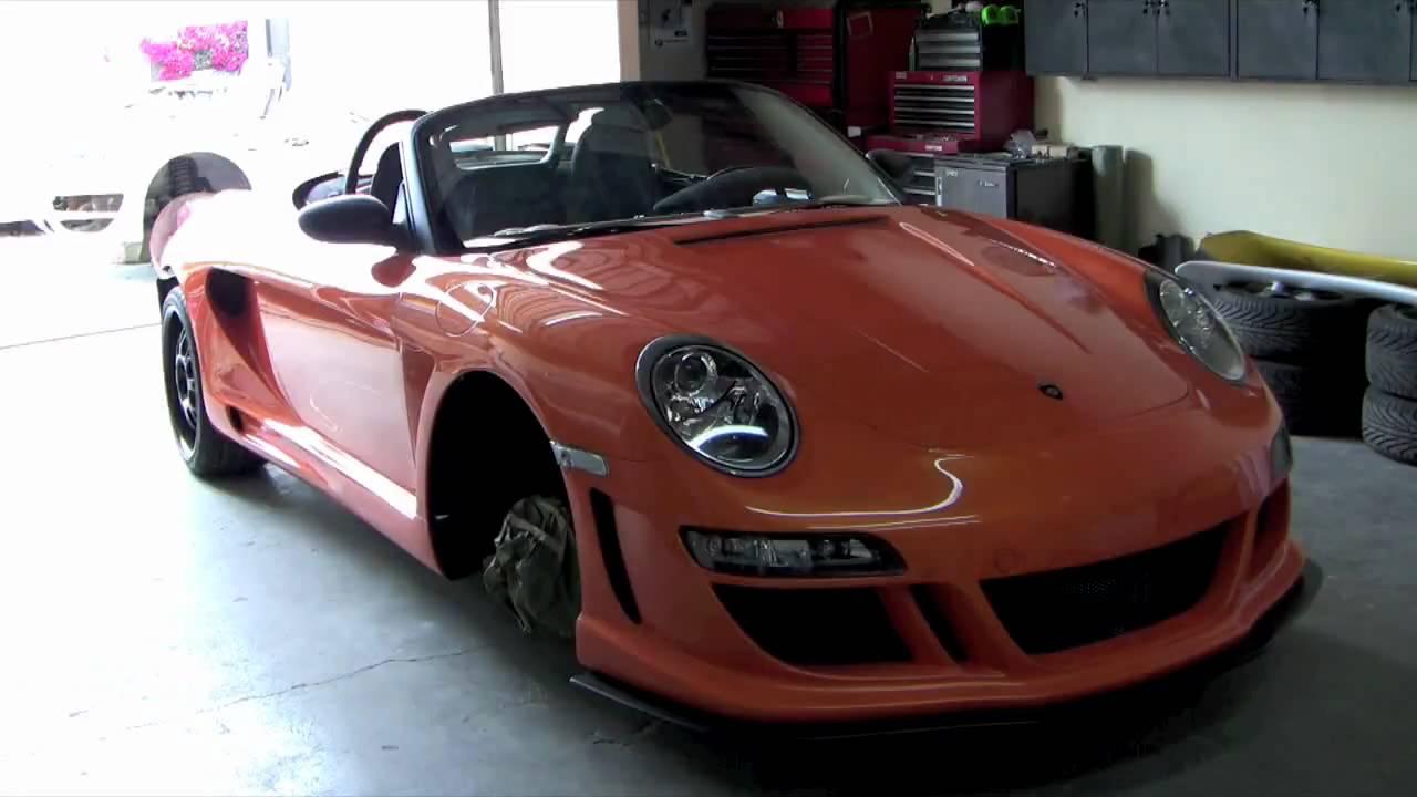 Custom Gemballa Boxster Porsche - YouTube