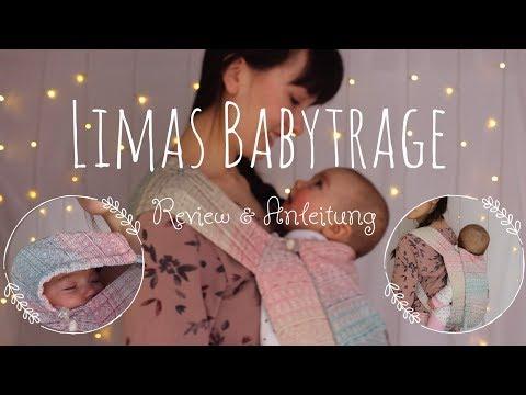 LIMAS Babytrage | Review und Anleitung | Einstellen & Binden