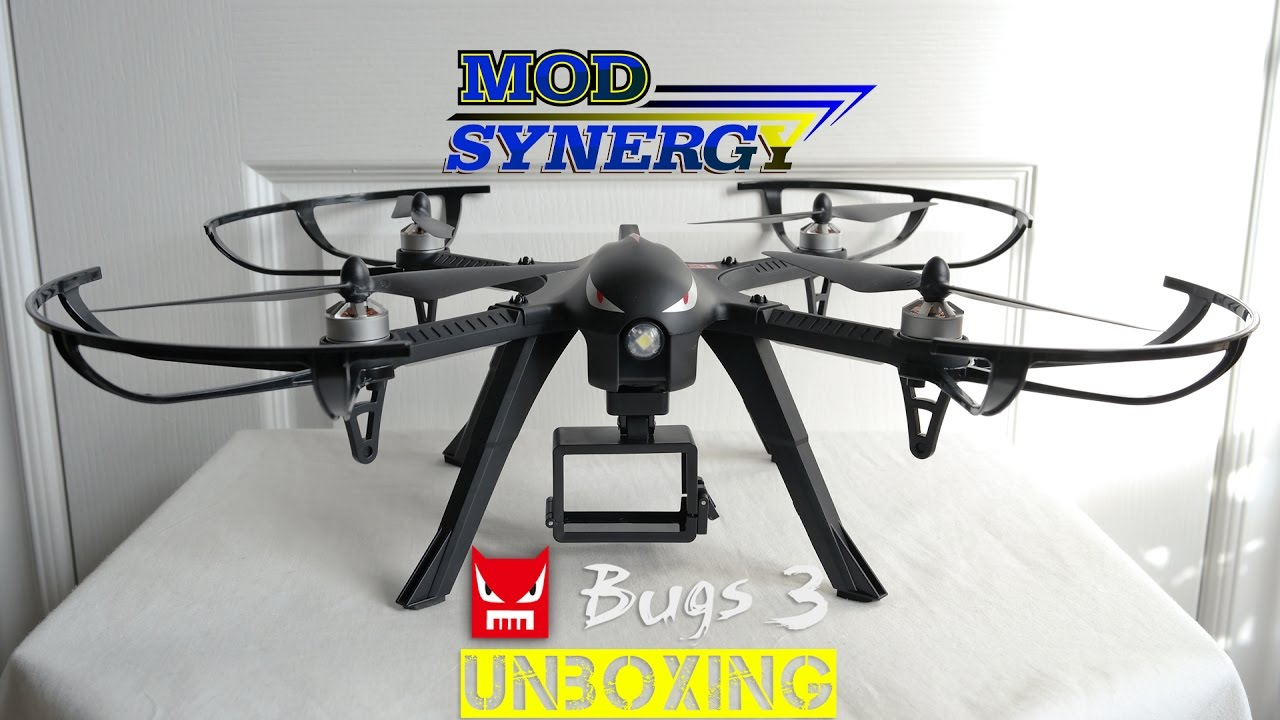 ModSynergy com - Review 321 - MJX Bugs 3 Brushless Quadcopter Drone