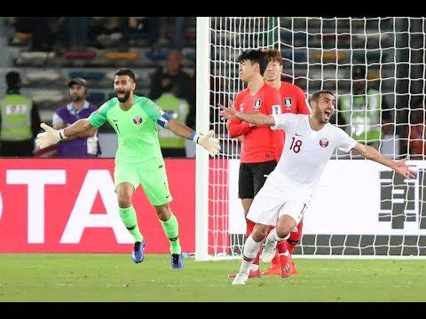 AFC Asian Cup - South Korea 0 Qatar 1