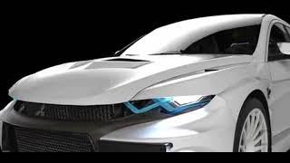 New Mitsubishi Evo XI Concept!