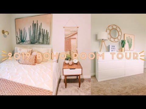 2019 MODERN BOHO ROOM TOUR!
