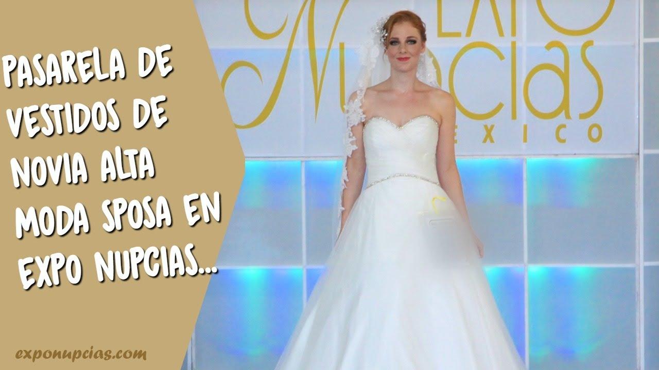 Vestidos de novia por Alta Moda Sposa pasarela Expo Nupcias Oct 2014 ...