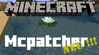 Minecraft (normaler) Mc Patcher 1.5.1 Download + Installation [German/HD] [Neu]