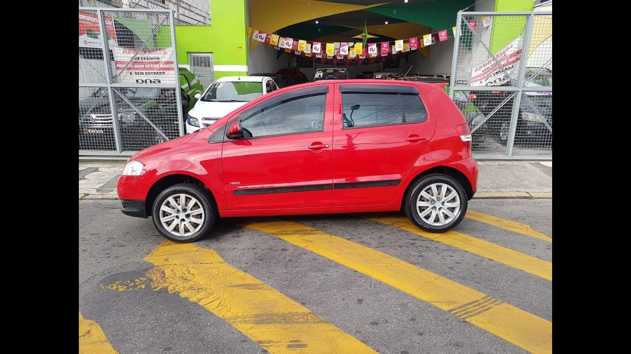 VW/FOX TREND 1.0 COMPLETO AR 2010 TEM SCORE BAIXO LIGA AGORA!!