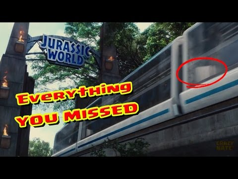 Jurassic World Easter Eggs & What You Missed