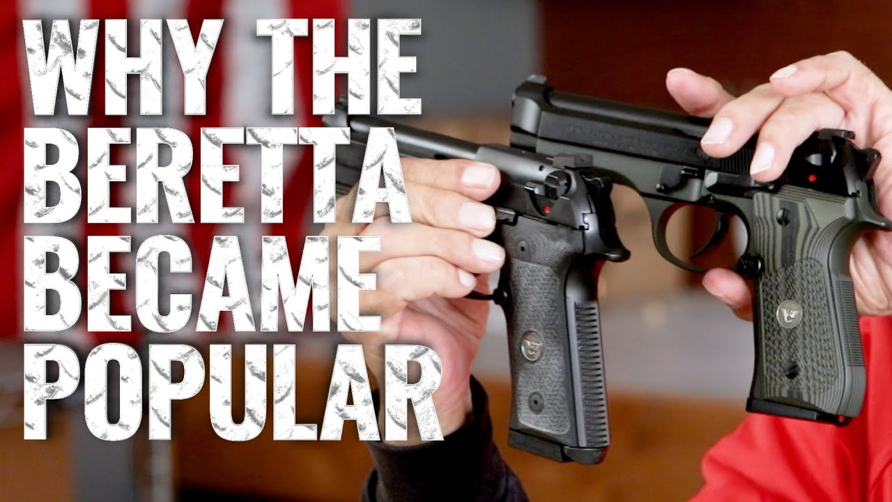 Why the Beretta 92 Became So Popular