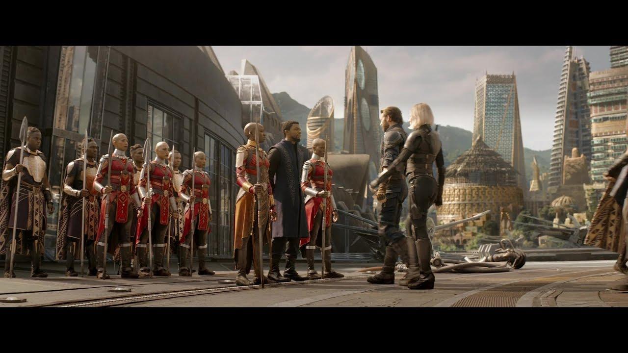 Avengers : Infinity War - Reportage : Retour au Wakanda