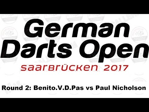 Happybet German Darts Open 2017 HQ - Round 2 [11of16]: Benito van de Pas v Paul Nicholson