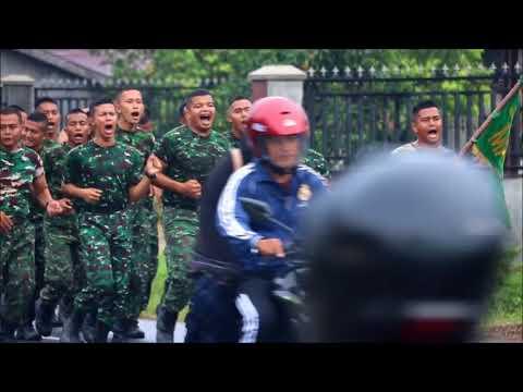 Raider Khusus 111 Lari Pagi 8 Kilometer Kuat dan Sehat
