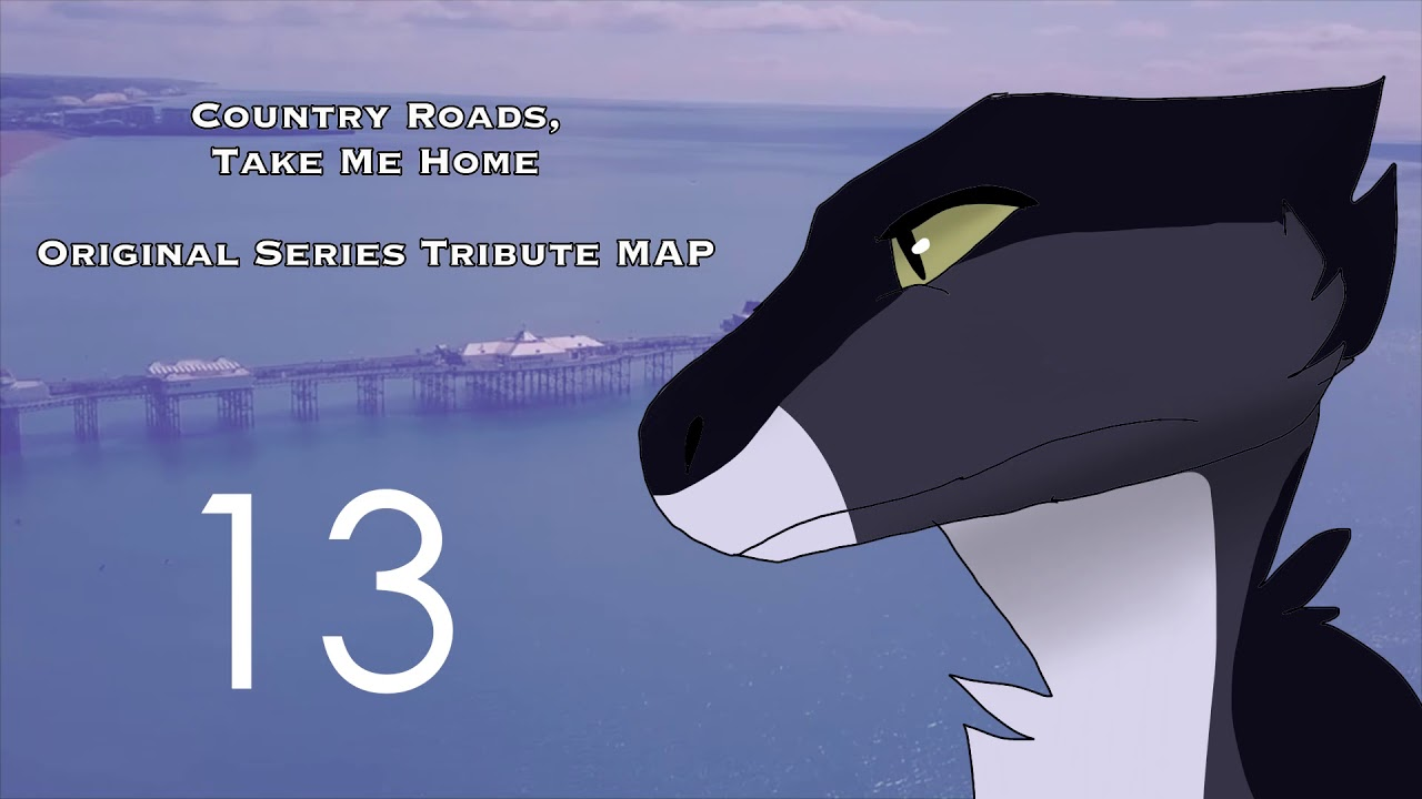 Map Me Home Country Roads, Take Me Home / Original Series Tribute Map OPEN  Map Me Home