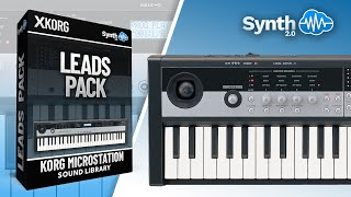 Korg Microstation Demo + Leads Pack V1 by Leadsounds ( Space4Keys Keyboard Solo )