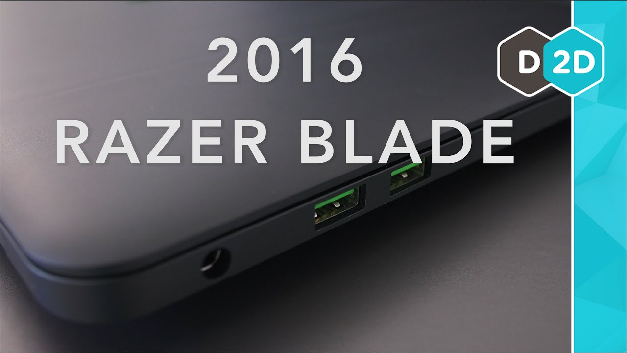2016 Razer Blade Review - The Best Gaming Laptop?