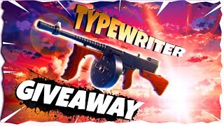 x10 Typewriter Giveaway | Weekly Giveaway | Fortnite Save The World