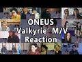 "[MV] ONEUS(원어스) _ Valkyrie(발키리) ""Reaction Mashup"""