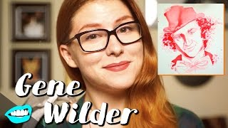 Drawing Gene Wilder, Willy Wonka // Rad Portraits with Beth Be Rad | Snarled