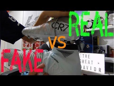b60c3cedffc Fake vs Real - Nike Superfly CR7 Cristiano Ronaldo Football Boots