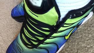 more Nike Tn Air Max Plus with white OTC Hanes tube socks