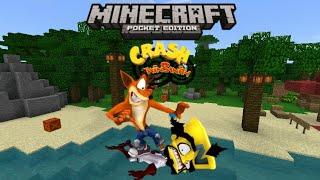 Minecraft Pocket Edition: Crash Twinsanity (100%) Completo