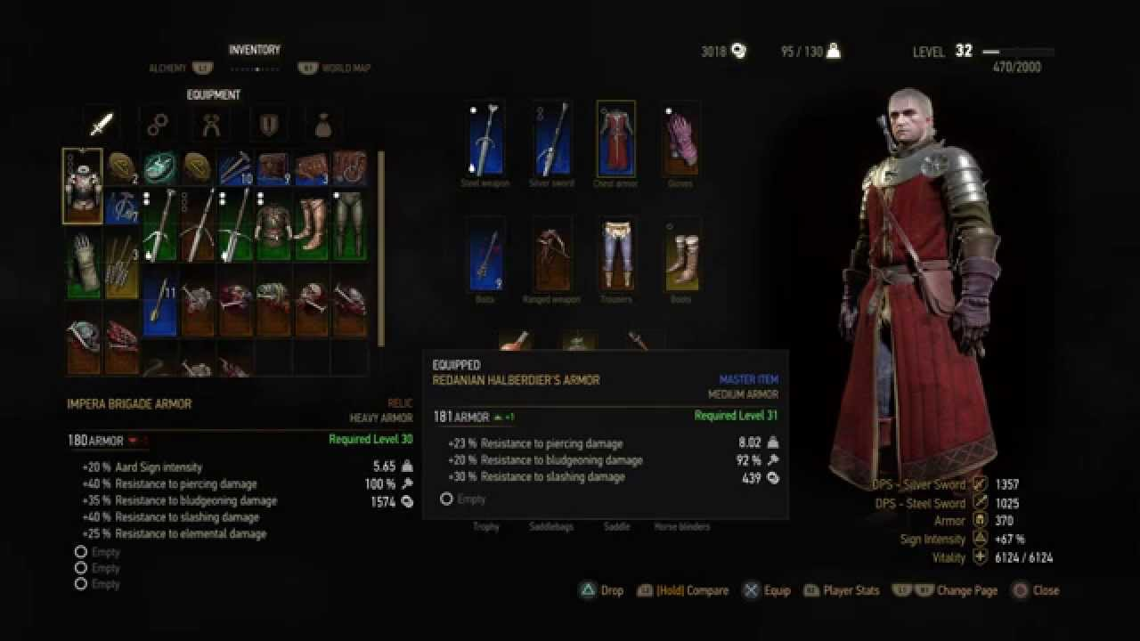 Witcher  How To Craft Materials