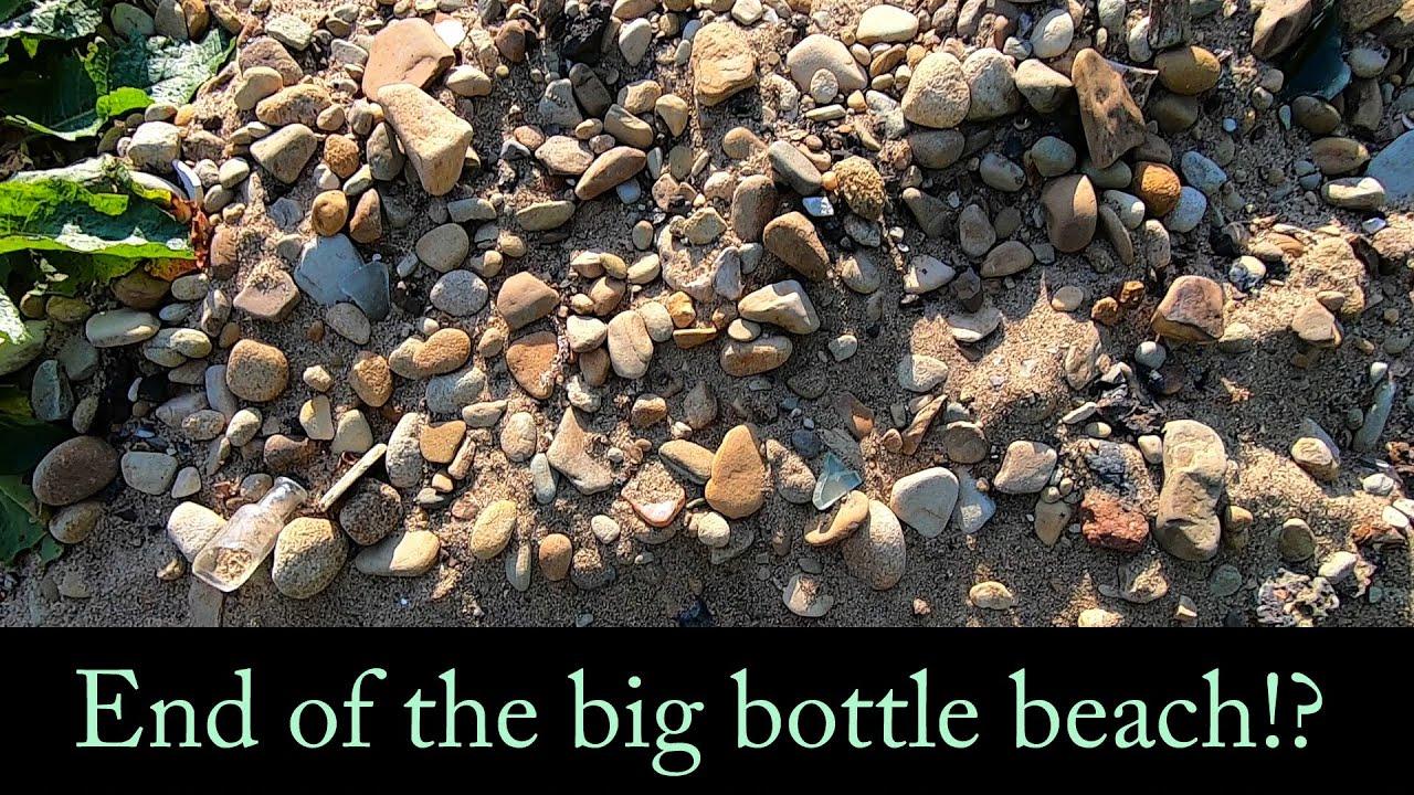 Return to the big bottle dump. A mudlarking adventure.