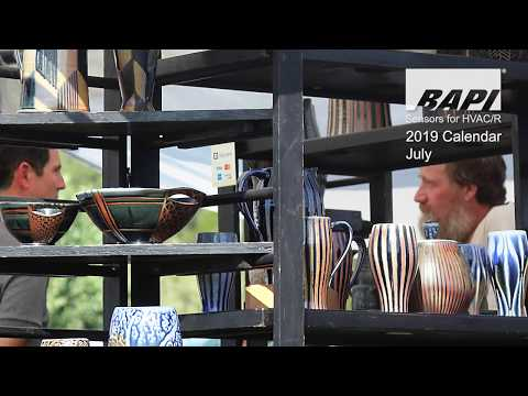 BAPI 2019 Calendar, July - The Driftless Art Festival