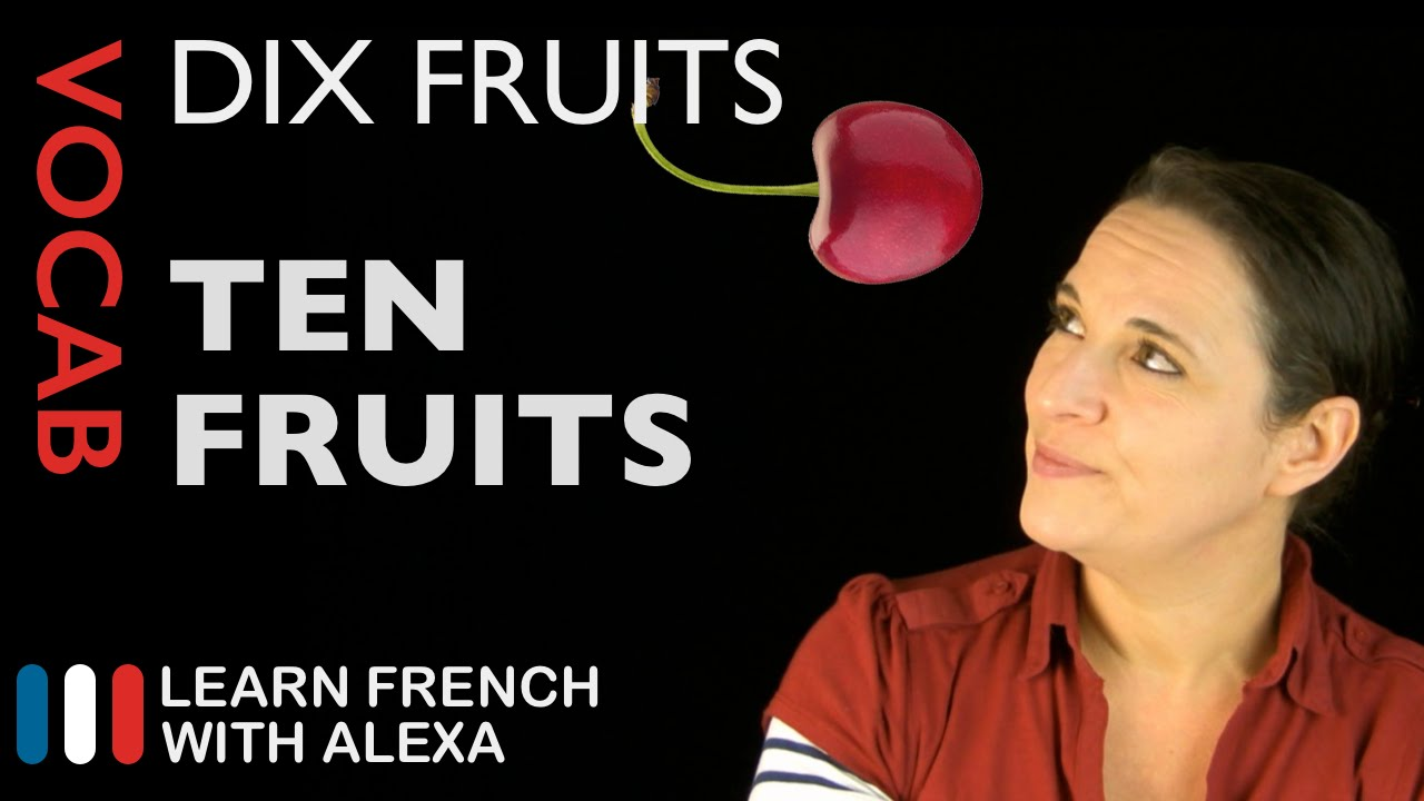 Fruits In French Basic French Vocabulary From Learn French With