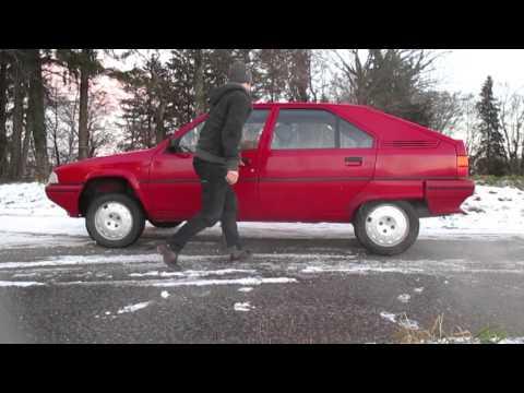 Hydro pneumatique sur Citroën BX