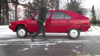Hydropneumatique sur Citroën BX