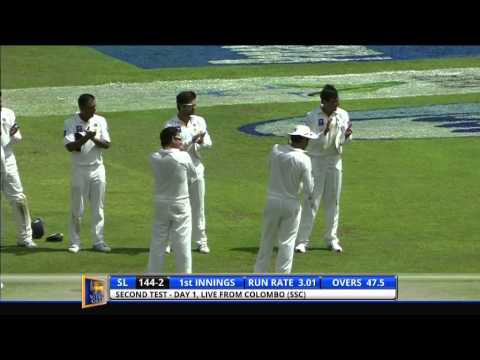 Sri Lanka v Pakistan, 2nd Test - Day One: Highlights