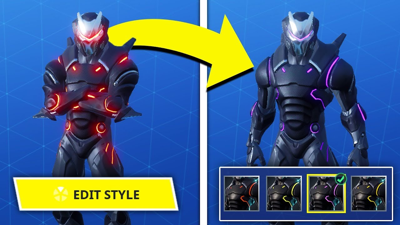 How To Color Change Omega And Carbide Skins Youtube