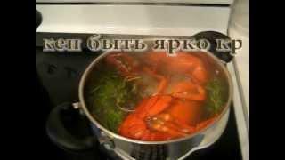 Рецепт приготовления лобстера с фото и  видео. Лобстер отварной.