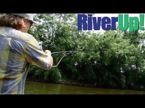 Fly Fishing The Huron [Ypsilanti, Michigan]