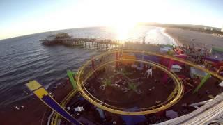 GTA 5 Santa Monica VS Real Life POV