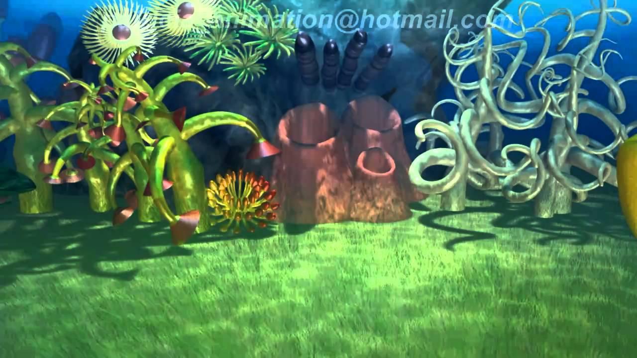 Underwater 3D Animated Environment, Underwater 3D ...