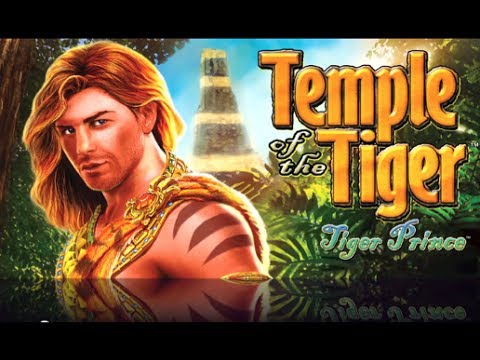 TEMPLE OF THE TIGER (TIGER PRINCE) - Aristocrat - Slot Machine Bonus *NEW GAME* - 동영상