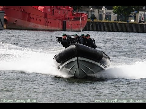 DSEI 2015 Day 3 boats ships defence equipment military waterborne demonstrations British Commando
