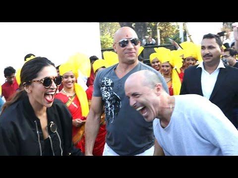 Exclusive: Vin Diesel And Deepika Padukone Having Fun After Arrival On Mumbai Airport