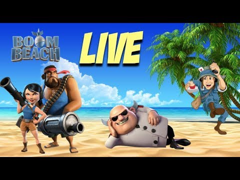 BOOM BEACH MAP CLEAR LIVE 1092VP - RZCM UNBOOSTED