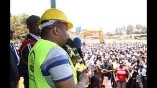 Nairobi Governor, Mike Sonko's speech at Uhuru Market Clean-up exercise