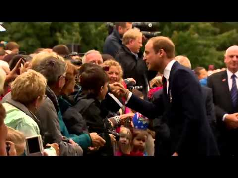 Kate wows the crowds in New Zealand