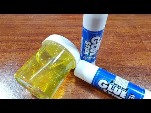 Glue Stick Clear Slime