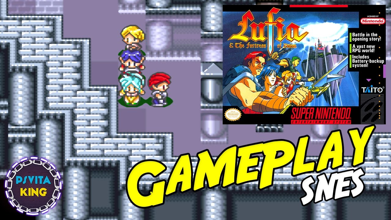 Lufia & The Fortress of Doom Snes9X/SNES GamePlay + Walkthrough [4K]