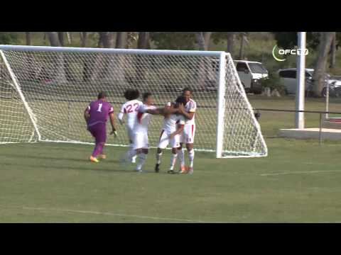 OFC Stage 1 Qualifiers - AMERICAN SAMOA 2-1 TONGA | Highlights