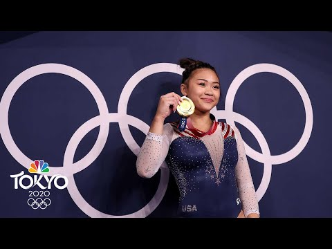 Suni Lee wins all-around gold medal (All Routines) | Tokyo Olympics | NBC Sports