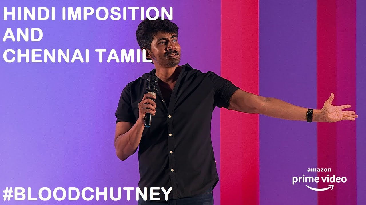 Hindi Imposition and Chennai Tamil | Standup Comedy by Karthik Kumar