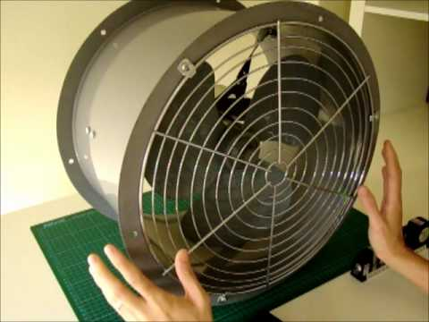 Solar Power Omicron Industrial Ventilation Fan Youtube