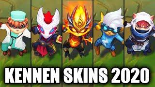 All Kennen Skins Spotlight 2020 (League of Legends)