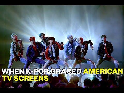 When K-Pop Graced American TV Screens